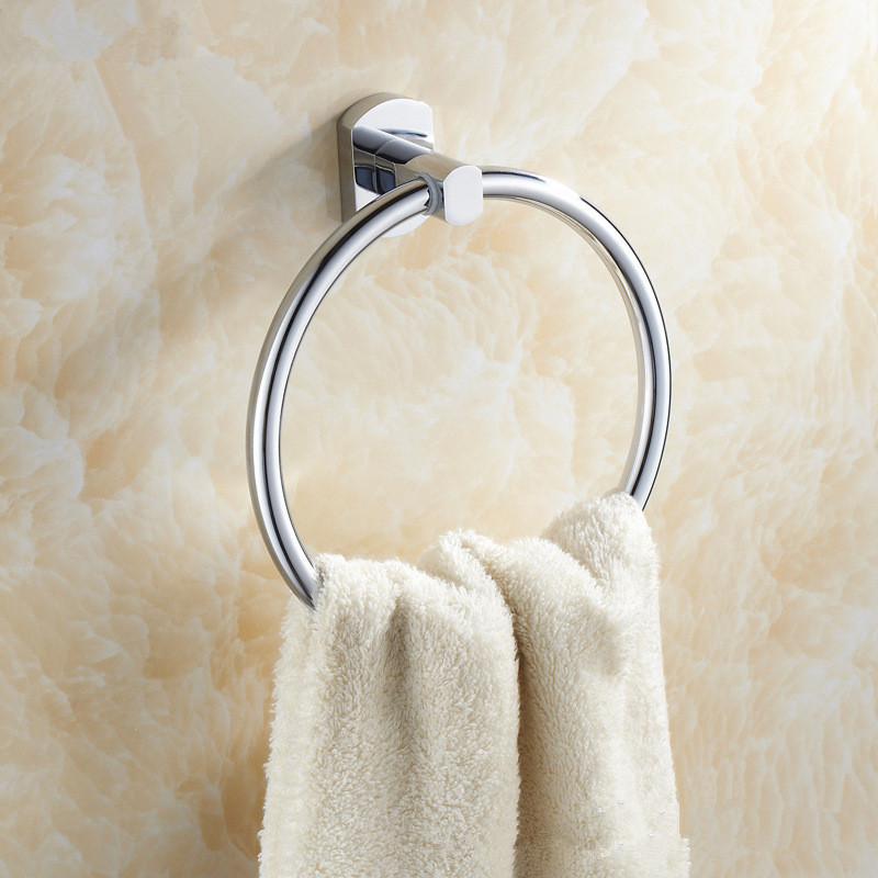 ФОТО Aothpher Bathroom Towel Ring,SUS 304 Towel Holder Rack,Solid stainless steel Construction,Bathroom Products,Bathroom Accessories