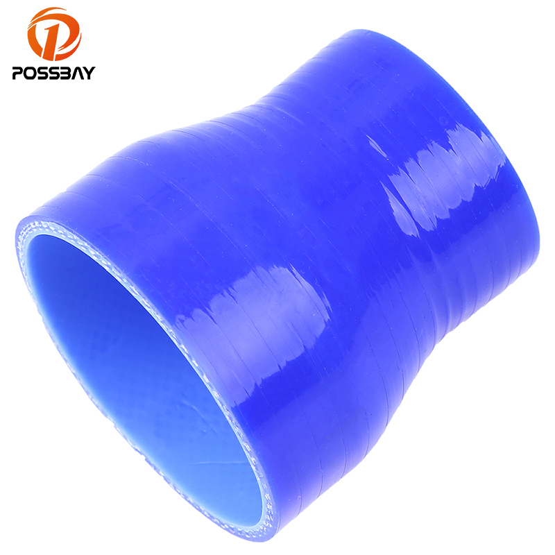 POSSBAY 51-89mm 2'' to 3.5'' Universal Car Auto Straight Turbo Pipe Silicone Hose Reducer Coupler Car Styling Water Hose
