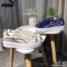 Original PUMA Suede Platform Women Shoes Lace-up Closure Women Sneakers  Embroidery Thick Bottom Wn s e5a52db1a