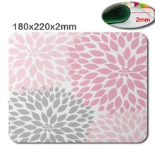 The carpet 3D custom fast printing rubber gaming Mouse Pad size is 180 mm * 220 mm * 2 mm Computer and Laptop Mouse Pad