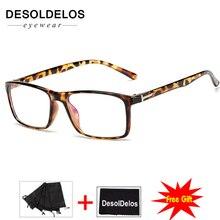 Korean Fashion Square Clear Glasses Women Eyewear Spectacle Frames Transparent Oculos Eyeglasses Fake 2019 New