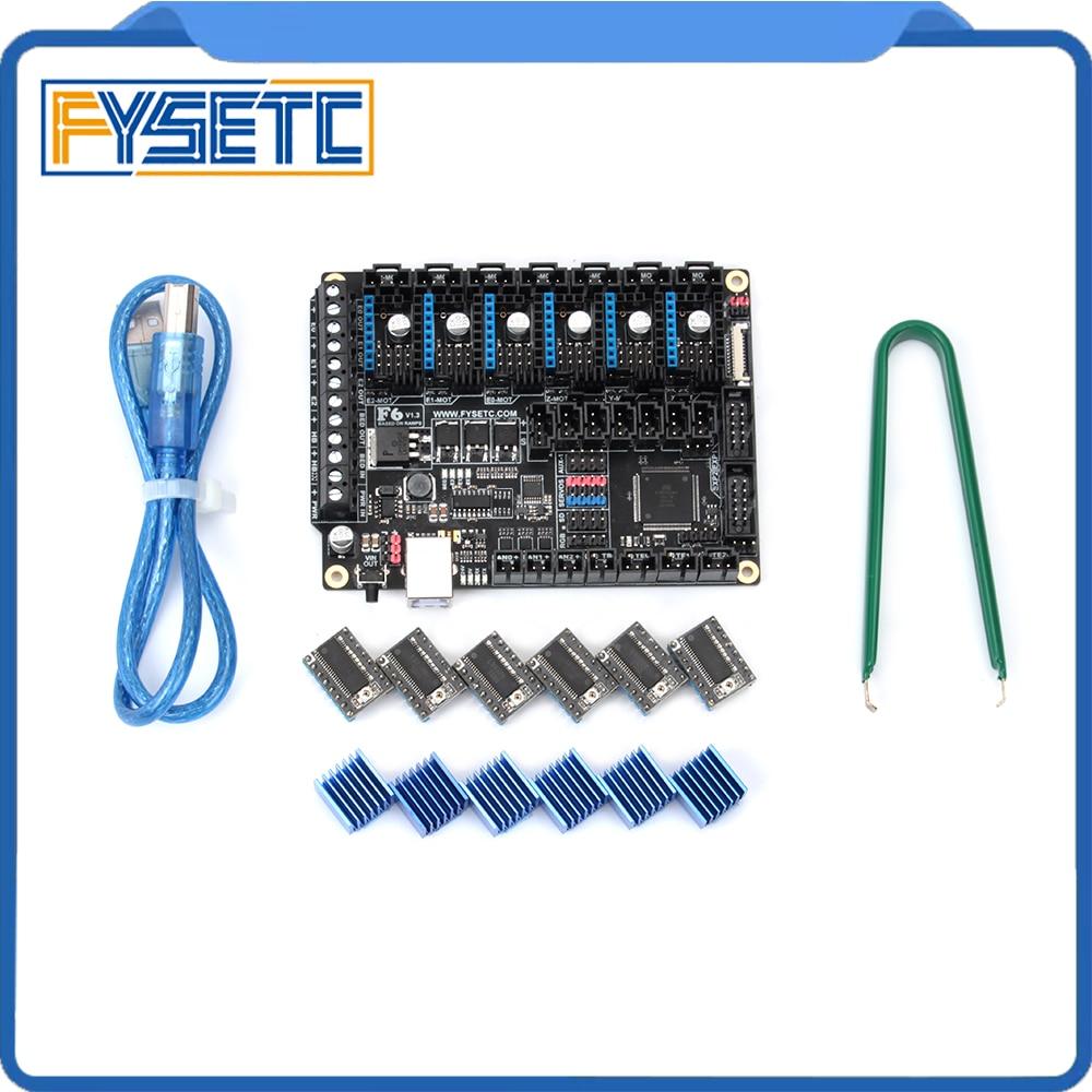 6 pcs LV8729 Moteur pas à pas Pilote + FYSETC F6 Conseil TOUT-en-un de La Solution Électronique F6 V1.3 Pour 3D Imprimante CNC Dispositifs - 4