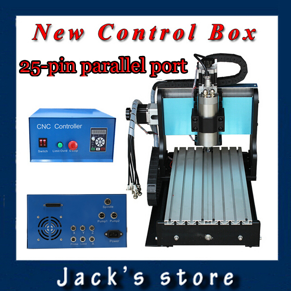 25-pin parallel port! 3020Z-S++ ,CNC3020 800W Spindle +1.5kw VFD CNC Router water-cooling Metal engraving machiney cnc machine usb port 3020z s cnc3020 800w spindle 1 5kw vfd cnc router water cooling metal engraving machiney cnc machine cnc 3020