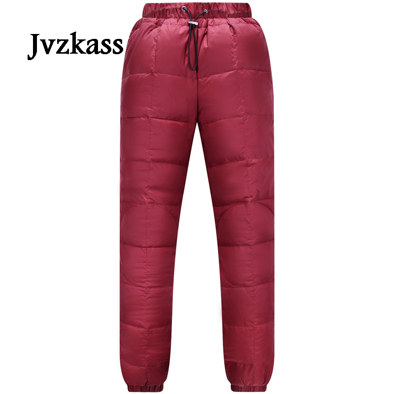 Moda Pantalones Desgaste Black Casuales navy Mujeres Invierno Pies Abajo Cintura Caliente red Gruesa Alta Delgado Deportes Jvzkass caramel Z232 YFtSq7Zxtw