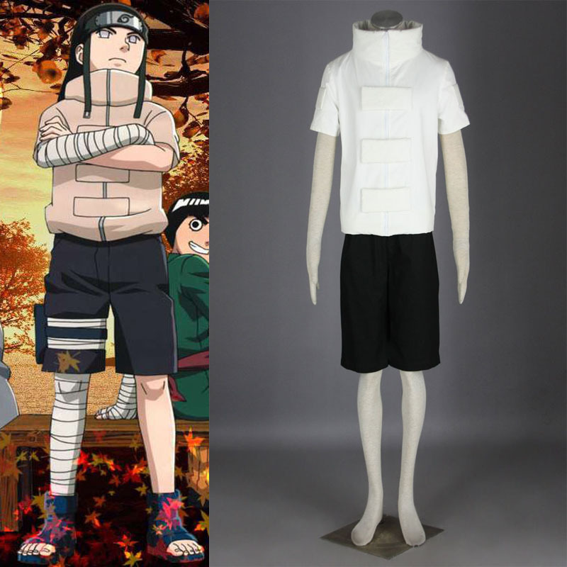 High Quality NARUTO Hyuuga Neji Anime Cosplay Costume