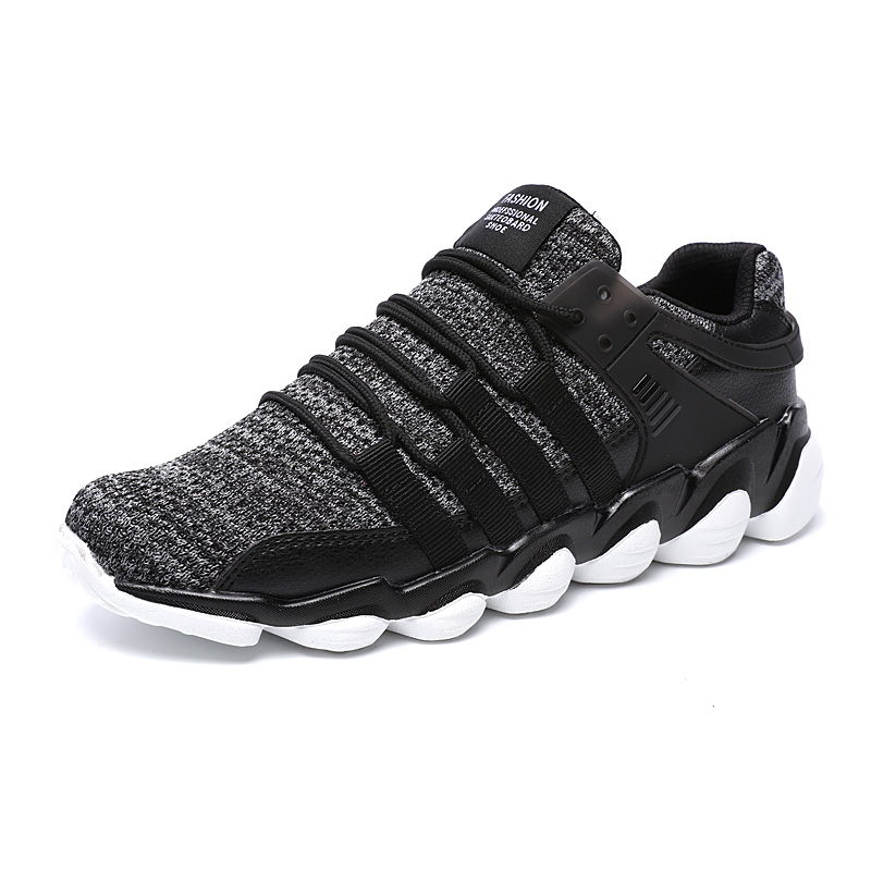 2018 Classic Running Shoes for Men Summer Couple Sneakers Man Fly Weave Sports Shoes Mesh Trainers