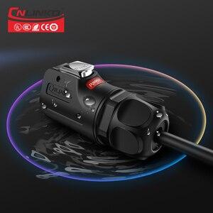 Image 4 - Cnlinko LP series M24 PBT matériel plastique, 3 4 broches 30A, prise de soudure, adaptateur dalimentation, câble, connecteur étanche IP67