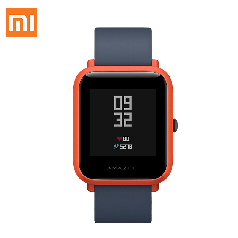 English Version Xiaomi Amazfit Smart Sports Watch Huami Mi Fit Youth Edition Bip BIT PACE Lite Waterproof GPS Compass Heart Rate huami amazfit smart watch xiaomi smartwatch bip bit face gps fitness tacker heart rate ip68 waterproof english version