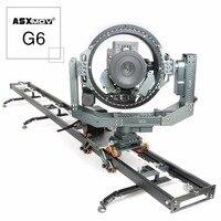 ASXMOV G6 Fotograficzne opcje Kolorystyczne Ze Stopu Aluminium Utwór Dolly Suwak Dla LUSTRZANEK dslr Camera Kamery Wideo