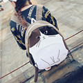 Cute Women Canvas Backpack Animal Cats Printing School Bags For Teenagers Girls Travel Bags Rucksack Mochilas Femininas