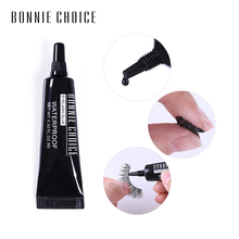 BONNIE CHOICE 1PC 9G Eyelash Glue Clear Black Lashes Mink Adhesive Glitter Waterproof Long Lasting Individual Makeup Access