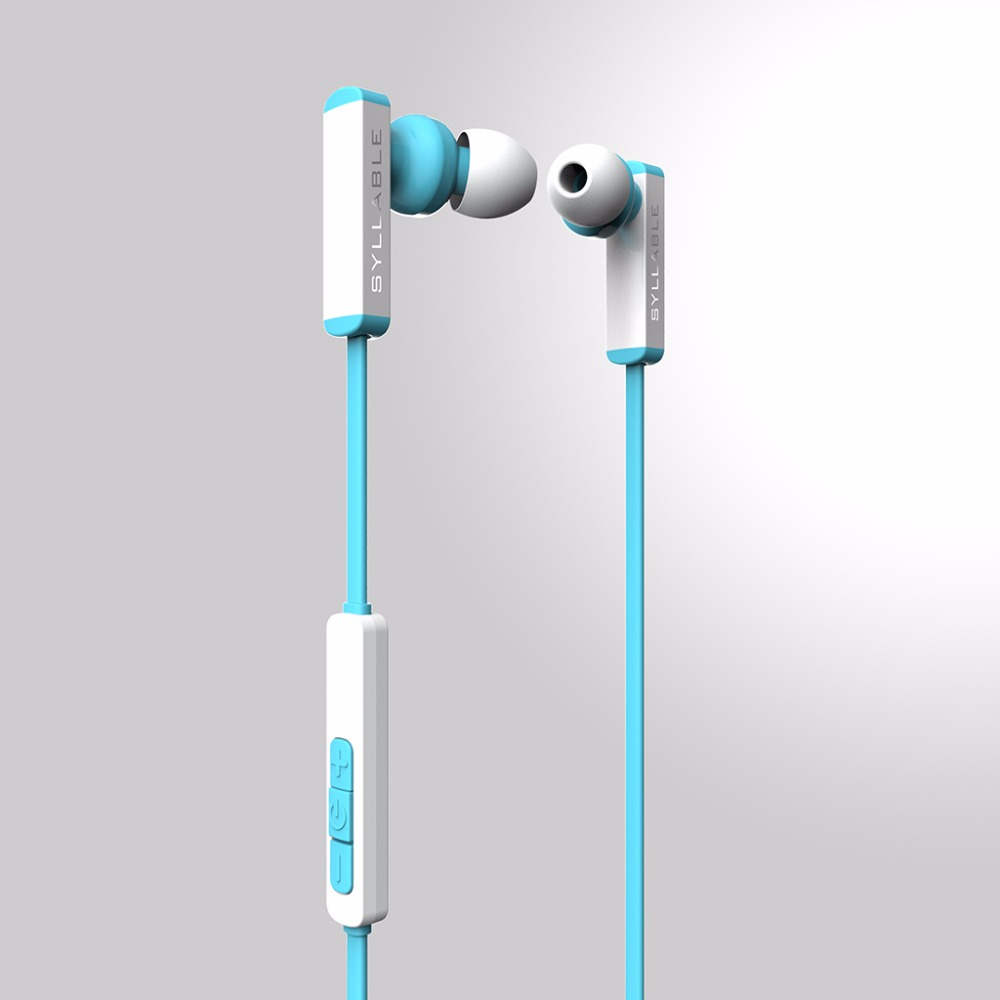 Syllable D300 Bluetooth Earphone V4.1 Wireless Earphone Sports Hands free for IOS Android Phones with Microphone dhl free ship new professional sports music mask headphone bluetooth 4 0 with microphone for android ios phones support calls