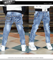 New arrival 2016 spring autumn boys jeans children casual light washing denim pants kids fashion trousers free shipping