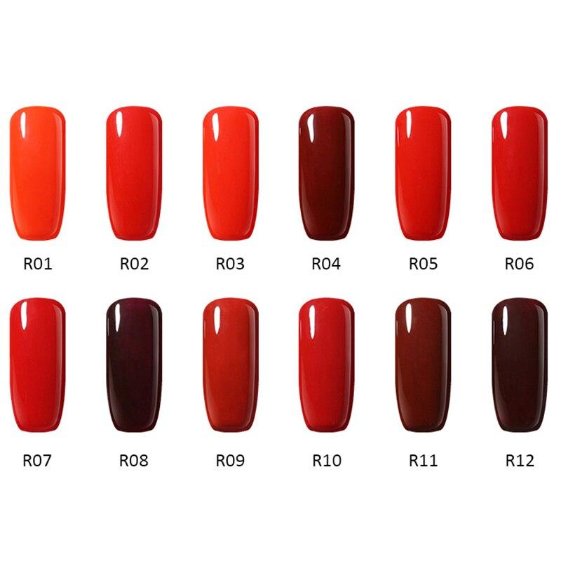 12stk / Lot 10ml UV Gel Nail Polish Colors Serie Soak Off LED - Negle kunst - Foto 5
