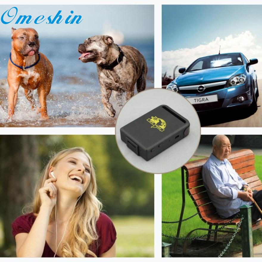 New Arrival TK102A Mini Vehicle GSM GPRS GPS Tracker Car Vehicle Tracking Locator w/ Charger Ap10
