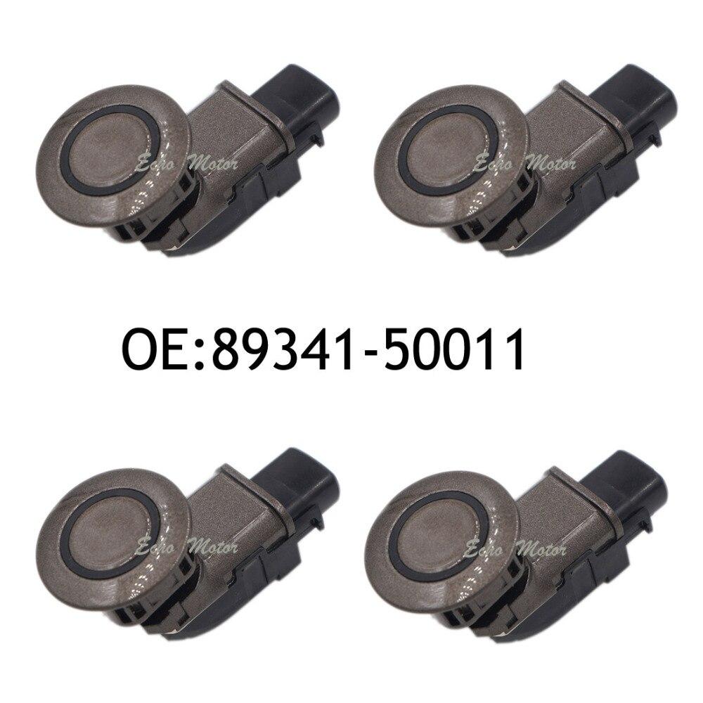 Nouvel ensemble (4) 89341-50011 4S1 capteur de stationnement à ultrasons pour Toyota Lexus LS430 2002-2006 188200-6381