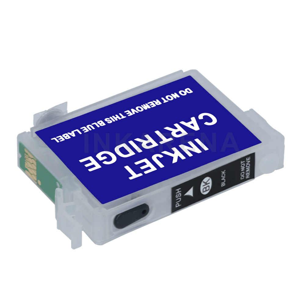 73 Kosong ink cartridge Isi Ulang untuk Epson T0731 CX4900 CX4905 CX5900 CX3900 TX300F TX209 TX419 Printer Tinta Auto ulang chip