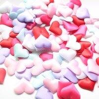 Lot Of 1000pcs Love Heart Sponge Confetti Flower Petals Throwing Flowers Wedding Party Table Decoration Bridal