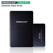 """Envío gratis 2.5 """" PIRISI HDD 1 TB 500 GB 160 GB delgado disco duro externo portátil disco de almacenamiento de venta al por mayor y al por menor en venta"""