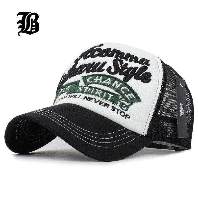 Prix pour [FLB] 5 panneaux broderie d'été casquette de baseball maille cap Gorras Hombre Polo Hip Hop Caps Papa casquette chapeaux Pour Hommes Femmes
