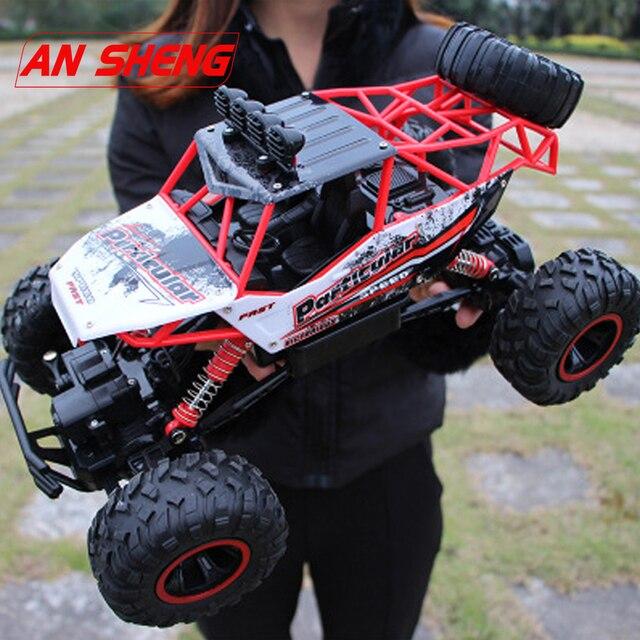 חדש 1:12 RC רכב 4WD טיפוס רכב 4x4 זוגי מנועים כונן ביגפוט מכונית שלט רחוק מודל כביש רכב עבור בני ילדים מתנות