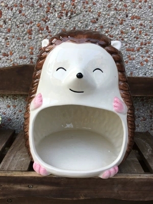 Ежик кролик шиншилл фарфор морская свинка негабаритных Творческий керамическое гнездо Лето охлаждение анти-heatstroke маленький питомец suppli