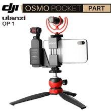 Ulanzi Dji Osmo Pocket Accessories Handheld Gimbal Phone Mount Clip Holder for Osmo Pocket Fixed Bracket VS PGYTECH