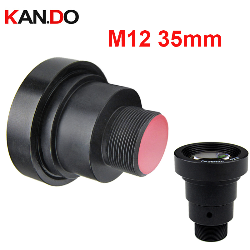 Extendable 1.3Megapixel 35mm Lens With IR Filter M12 Mount Aperture F2.0 For Action Cameras 1/2
