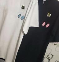 2019 High Quality New bee printed summer tops short sleeved cotton T shirt female t shirt women men