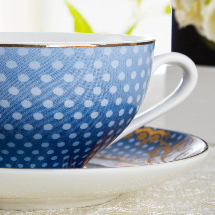 Королевский дворец в Западной Европе аристократический высококачественный креативный композитный горшок для чая кофейника - 4