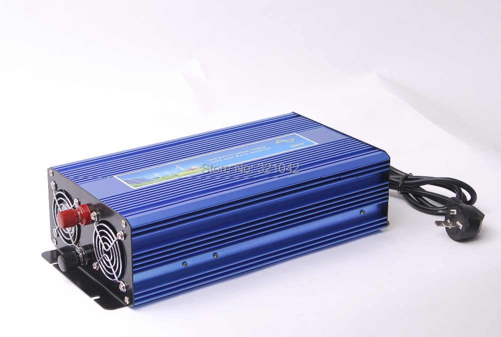 цена на 800W MAX 1600W Pure Sine Wave Power Inverter 12V/24V DC to 110V/220V AC 50HZ/60HZ with UPS battery charging Function