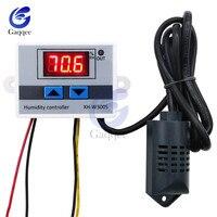 XH-W3005 220 12 V 24 V Цифровой Управление влажностью Лер инструмент Управление влажностью переключатель гигростат гигрометр SHT20 датчик влажности
