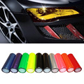 7 Colors Car Light Sticker Film Glaze Fog Light HeadLight Taillight Tint Vinyl Films 3 Layer styling Sheet Car Decoration Decals