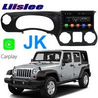 Liislee автомобильный мультимедийный плеер NAVI для Jeep Wrangler JK J8 TJL J8 Катана принц 2011 ~ 2018 Радио Стерео gps навигации