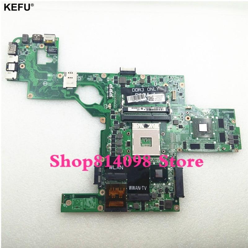 KEFU CN-0714WC 714WC подходит для материнской платы ноутбука DELL L502X, материнская плата с поддержкой i7 cpu GT540 2 Гб 714WC DAGM6CMB8D0 HM67 100% протестирован
