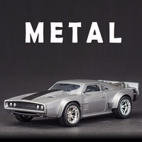 FAST FURIOUS 8 ICE CHARGER JADA 1 24 Scale Metal Vehicle Model Arabalar Collectible Model Cars