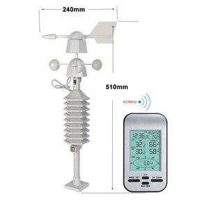 RF 433mhz wireless weather sta