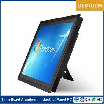 """Black 12"""" 15"""" 17"""" 19"""" 21.5 inch capacitive touch screen panel for vending machine"""