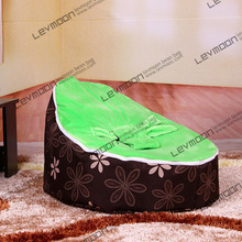 FREE SHIPPING baby seat with 2pcs green up cover baby bean bag chair softy kid's bean bag seat baby bean bag bed(China)