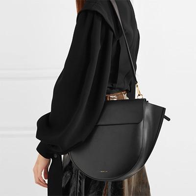 Semicircular Saddle Bag...