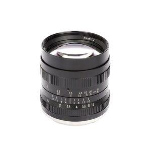 Image 3 - Brightin estrela 50mm f1.4 grande abertura padrão principal foco manual mf lente para fuji X A10 a20 a5 a3 X T20 t10 t3 t2 X PRO2 X E3