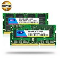 JZL 1.35 V Tensione DDR3L 1600 Mhz PC3-12800S 8 GB/DDR3 PC3 12800 1600 1333 1066 Mhz Per Il Computer Portatile Notebook SODIMM Memoria Ram SDRAM
