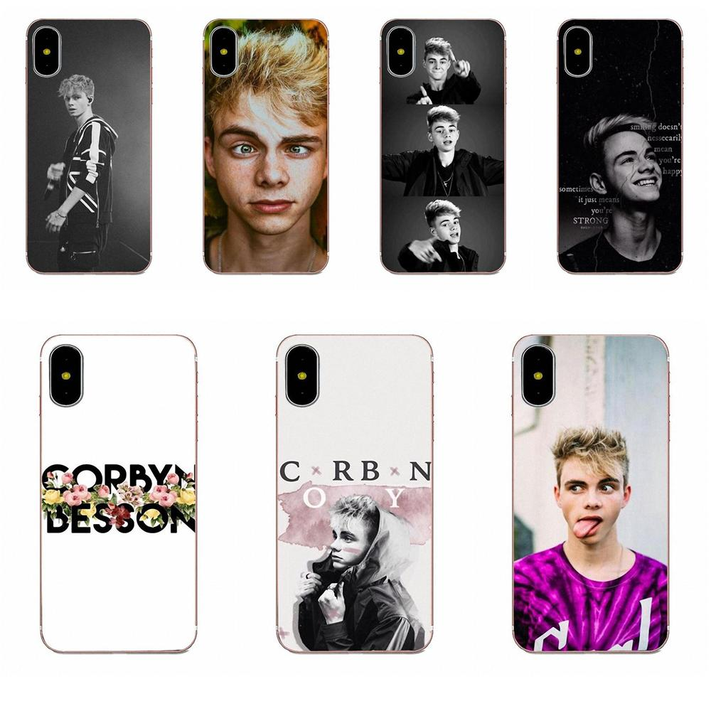 Corbyn Besson Why Don't We For Apple iPhone X XS Max XR 4 4S 5 5C 5S SE 6 6S 7 8 Plus TPU Phone Skin