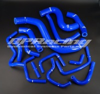 SILICONE RADIATOR HOSE KIT FOR Nissan Skyline GTR35 14PCS BLUE 2008 up