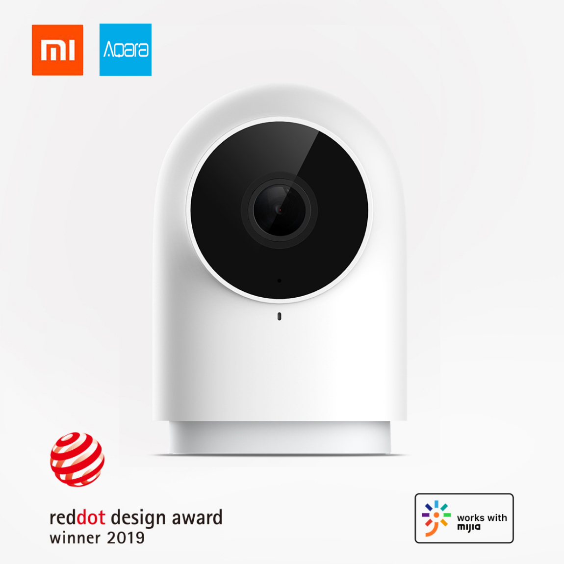 Xiaomi Aqara G2 Camera Smart IP Gateway Hub Zigbee Gateway Edition 1080P AI Recognition Smart APP