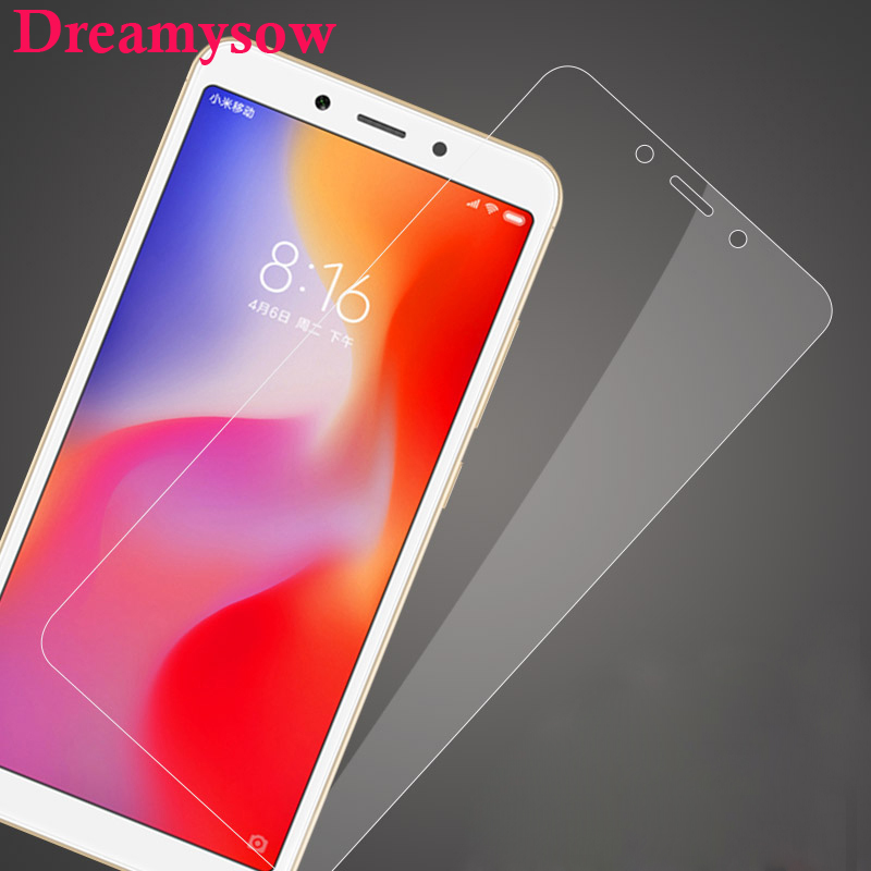 Dreamysow Tempered Glass Protective Film for Xiaomi Mi 4 4C Mi5 Mi5s Plus Redmi S2 Y2 4A 5A 6A 6 Screen Protector Redmi Note 6