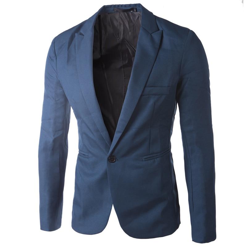 Brand Sky Blue Blazer Men Costume Veste Homme 2017 New Arrival Mens Slim Fit Blazer Jacket Stylish Red Black Pink Suit Men 3XL 4