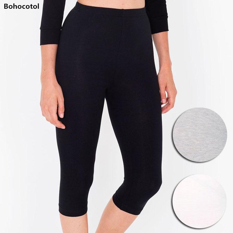 Bohocotol 2018 XS-XXXL Women's Leggings 7 POINTS Fashion Skinny Trousers Comfortable Adventure Time Leggings Women Free Drop