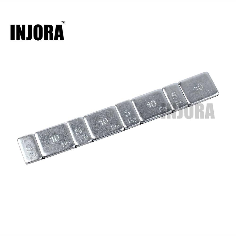 """Metalen Tegengewicht Gewicht Balans Blok voor 1.9 """"2.2"""" Velg RC Rock Crawler Traxxas TRX-4 Axiale SCX10 90046 d90"""