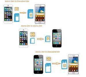 Image 3 - ALL IN ONEขนาดบัตรเครดิตSlim SIM Adapter Kit with TF Card Reader & SIM Cardถาดใส่ถาด,ผู้ถือซิมการ์ด